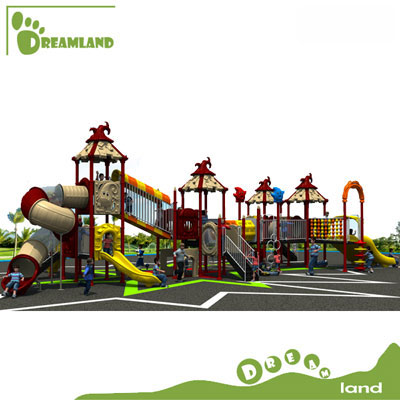 Children outdoor playground big slides for sale DL14-013A