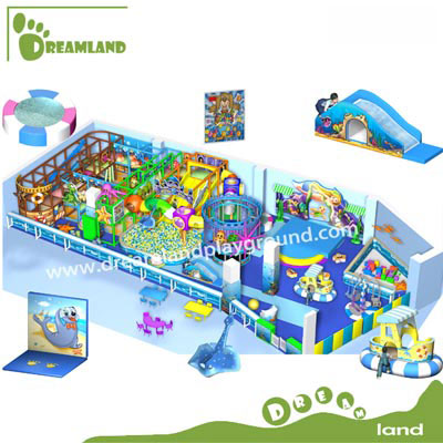 Children's dreamland ocean theme play equipment DLQL041