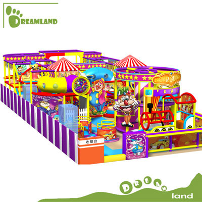Circus Indoor playground equipment canada DLID253