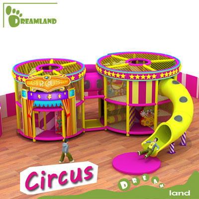 Circus kids indoor playground equipment DLID265