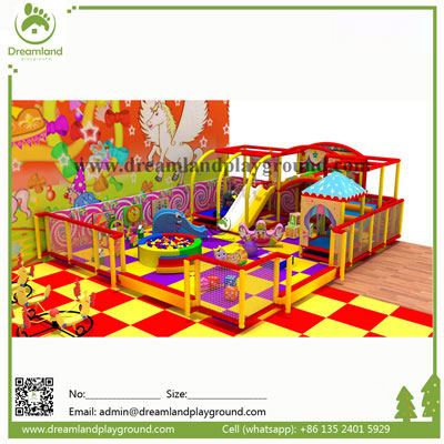 Circus theme kids playground indoor DLC001