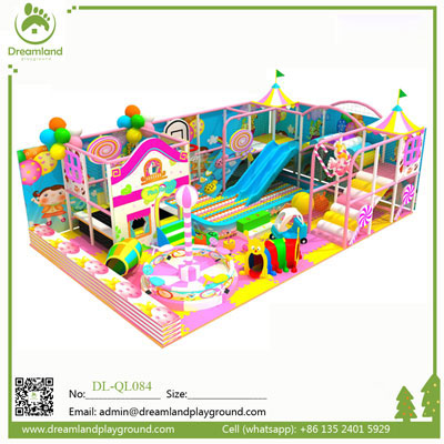 Lovely Daycare Center Candy Theme Kids Indoor Playground DL-QL084