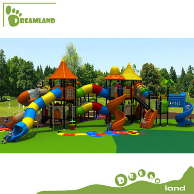 Funny kindergarten preschool kids outdoor playground equipment  DL14-073A