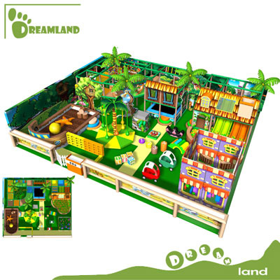 Indoor soft modular playground equipment for church DLID06