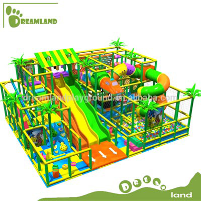Indoor soft modular playground equipment for church DLQL064