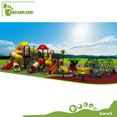 outdoor playgrounds kids metal playground slides DL14-072A