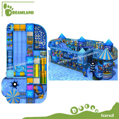 Ocean theme Customized design interrior playground DLKQ004