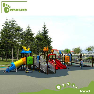 Outdoor amusement disabled kids playground equipment DL12-114A