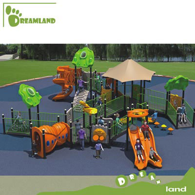 Outdoor amusement disabled kids playground equipment DLD001