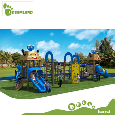 High quality Wooden Outdoor Playground set DL14-127A
