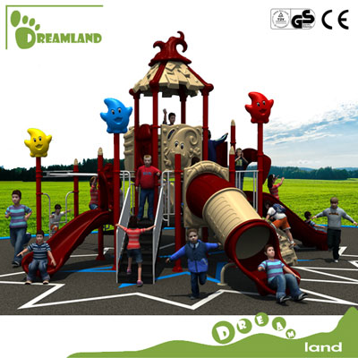 Colorful popular high quality airplane outdoor playground DL14-012A