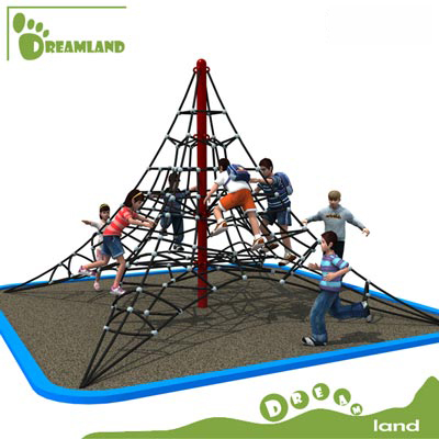 awesome physical activity outdoor climbing net structure DL14-133G