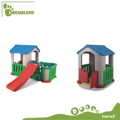 big plastic garden house fantastic cubby playhouse for kids DL-05201