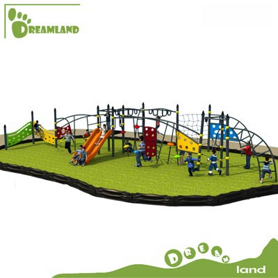 children outdoor playground outdoor climbing nets DL14-135D