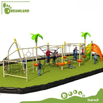 children outdoor playground outdoor climbing nets DL14-136B