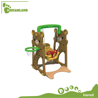 Fancy plastic toys,new style outdoor plastic swing  DL-05501