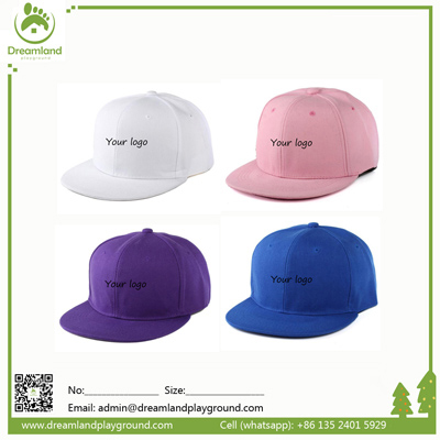 Hip hop Plain 100% cotton baseball cap DLB001