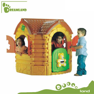 kids' fantastic indoor plastic playhouse for sale DL-05102