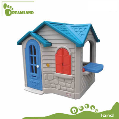 kids indoor outdoor healthy plastic cubby house DL-05002