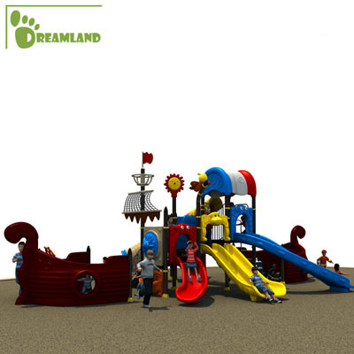 kids outdoor pirate ship playground equipment DL14-096A
