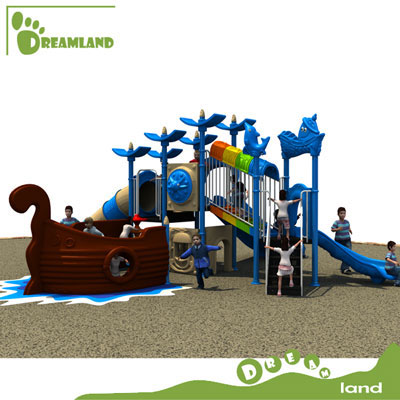 kids pirate ship playground DL14-093A