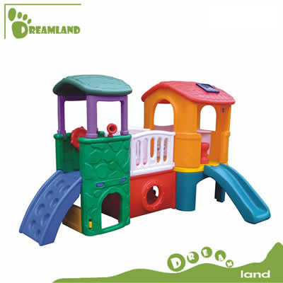 indoor outdoor plastic pla house for kids DL-04102