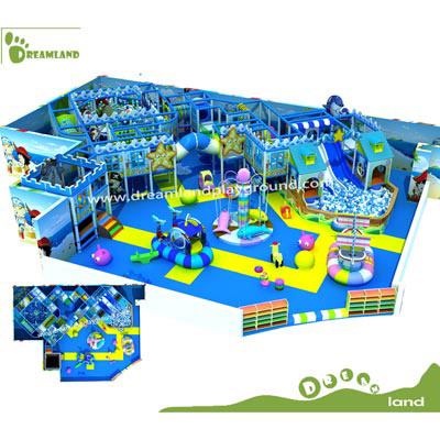 ocean theme customized indoor playground equipment DLID160317