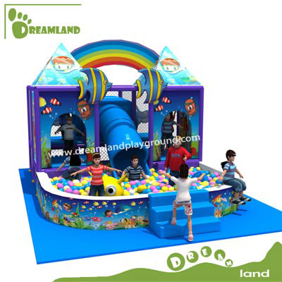 Ocean theme used indoor playground equipment sale DL156D