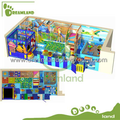 Customized ocean playground indoor DLID010