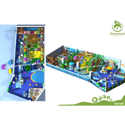 Ocean Indoor playground equipment prices DLID257