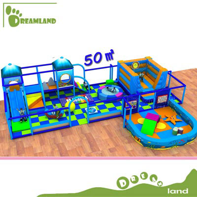 Toddler area ocean indoor playground for baby DLID273