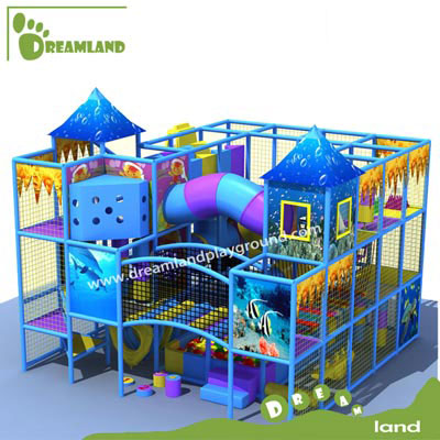 TUV standard kids ocean indoor playground for sale DLK012