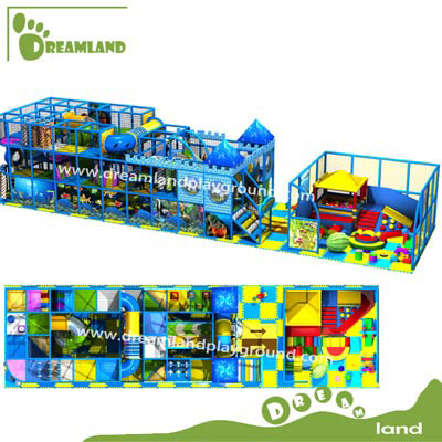 ocean theme indoor playground equipment DLK015