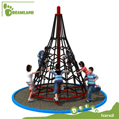 outdoor play structure with climbing rope DL14-133H