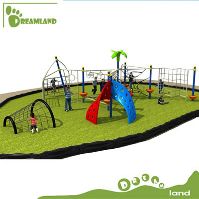 physical activity kids playground outdoor climbing frames DL14-135A
