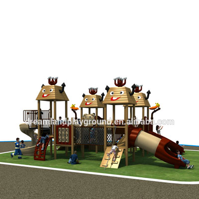 plastic composite kids outdoor playground equipment DL14-130A