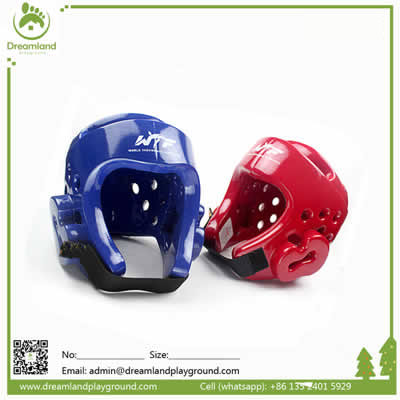 Professional Taekwondo helmet boxing headgear safety helmet DLHS001