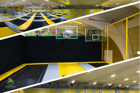 Big trampolinpark in Germany