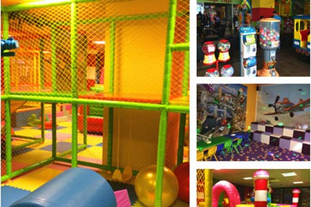 Romania jungle indoor kids playground