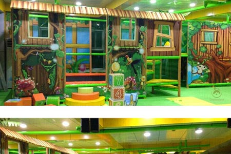 Chile Jungle themed play gym