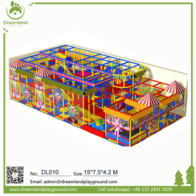 Circus theme indoor playground Equipment DL010