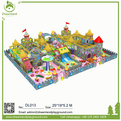 Hot Cosmic theme kids castle indoor playground DL013