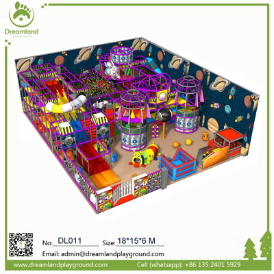 Kids Large Theme Indoor Playground for Sale DL011