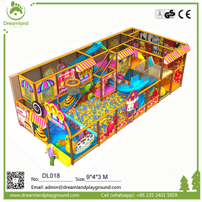 Promotions candy theme kids indoor playground for sale DL018