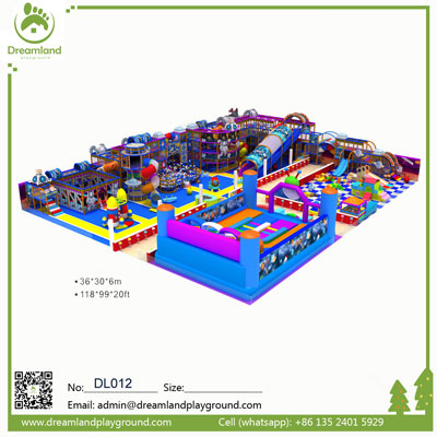 Space theme used commercial indoor playground for sale DL012