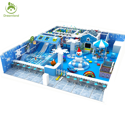 Theme Commercial Indoor Soft Play Equipments for Toddlers DL004