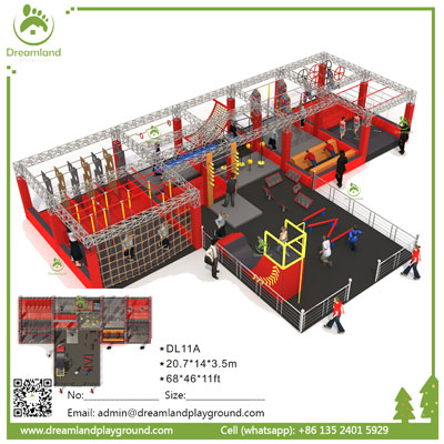 Warrior Course Adult Indoor Obstacles For Sale DL 11A