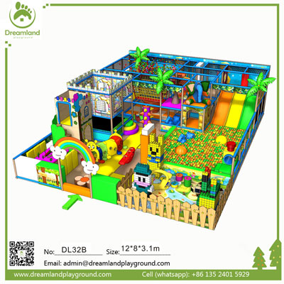 Indoor Soft Play Equipment for Sale Big Indoor Playsets for Sale DL32B