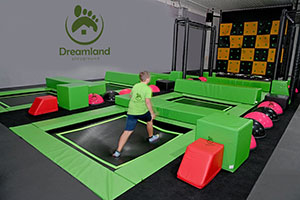 Dreamland Playground New Trampoline Park Projects in Germany