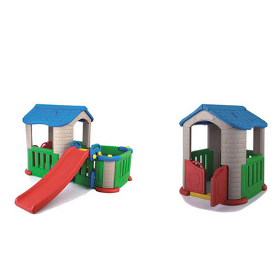 Big Plastic Garden House Fantastic Cubby Playhouse for Kids